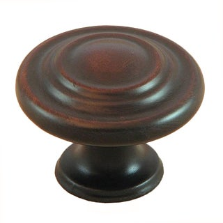 Stone Mill Oil Rubbed Bronze 3-ring Cabinet Knobs (Pack of 25)