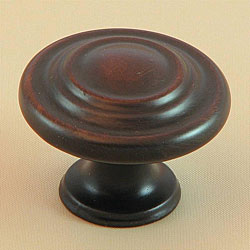 Stone Mill Oil Rubbed Bronze 3-ring Cabinet Knobs (Pack of 10)