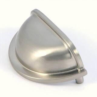 Stone Mill Nantucket Cup Satin Nickel Cabinet Handles (Pack of 5)|https://ak1.ostkcdn.com/images/products/4587367/P12521069.jpg?impolicy=medium