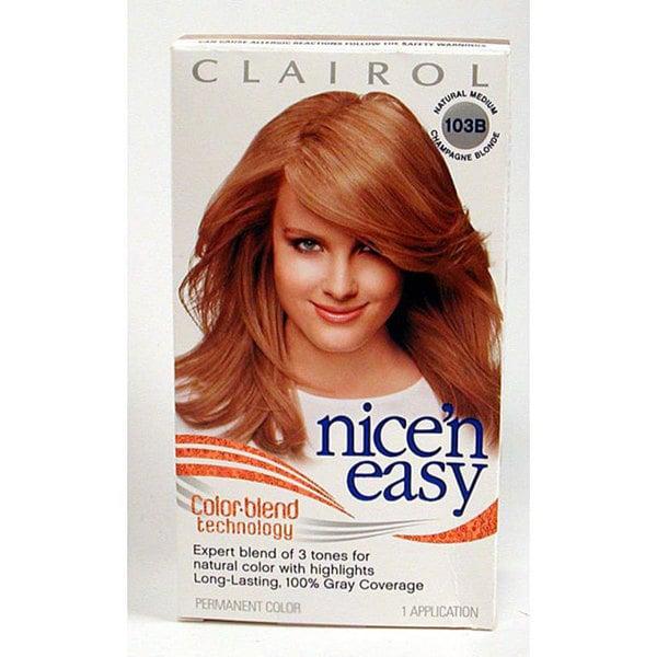 Nice N Easy 103b Medium Champagne Blonde Hair Color Pack