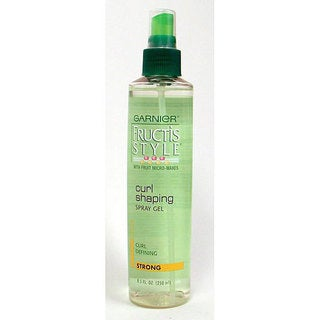 Garnier Fructis 8.5-ounce Curl Shaping Spray Gel (Pack of 4)