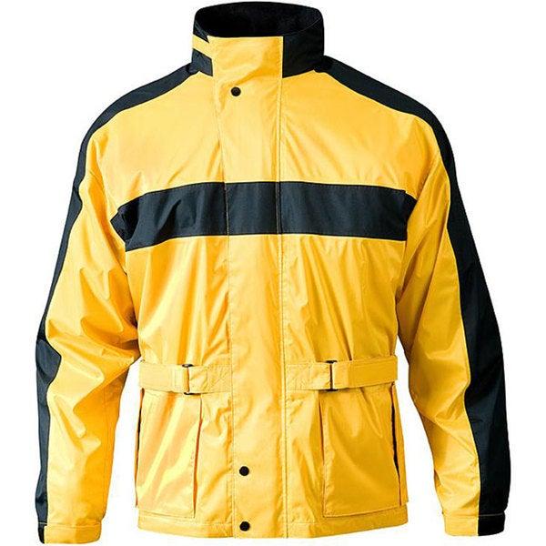 RX 2 Yellow Motorcyle Rain Jacket