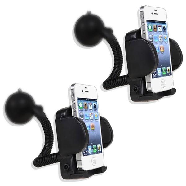 INSTEN 2-piece Universal PDA Smartphone Holder Windshield Mount