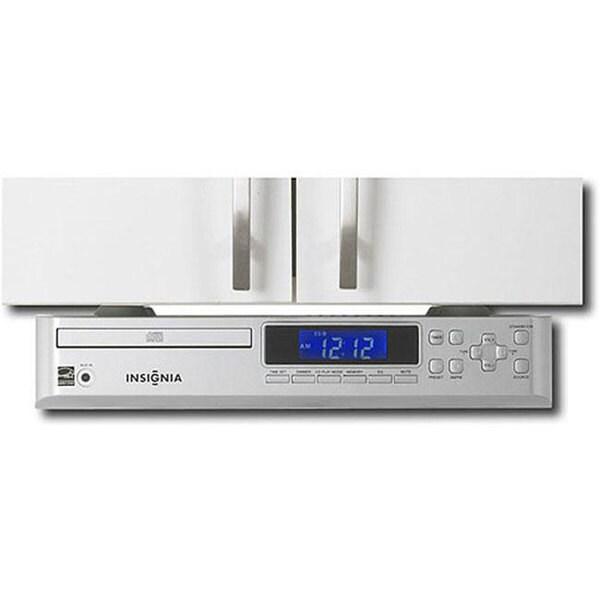Cd Player For Kitchen Under Cabinet: Shop Insignia NS-CLUC01 Under-cabinet Silver CD Player