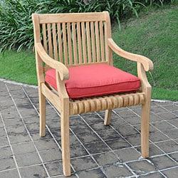 Kokomo Teak Dining Arm Chair - Thumbnail 1