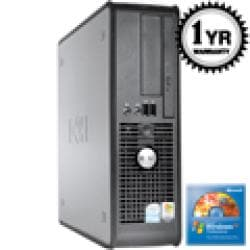 Dell Optiplex 745 Core 2 Duo 1.86Ghz 4G 500GB SFF Computer (Refurbished) - Thumbnail 1