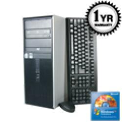 HP DC7800 Core 2 Duo 2.3Ghz 2G 500GB Tower Computer (Refurbished)