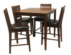 Beauville Mission 5-piece Oak Dining Room Set - Thumbnail 2