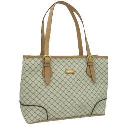 Rioni Signature Natural Business Shoulder Bag
