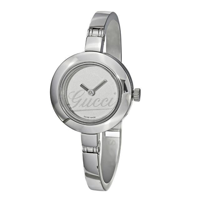 2c6e821dcc7 Shop Gucci 105 Women s Stainless Steel Bracelet Watch - Free Shipping Today  - Overstock - 4893227