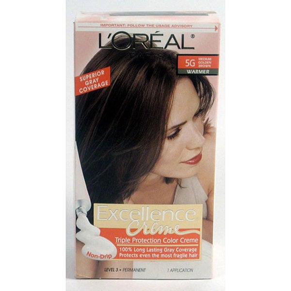 Loreal Excellence Coupons Printable Eating Out Deals In: Shop L'Oreal Excellence #5G Medium Golden Brown Hair Color