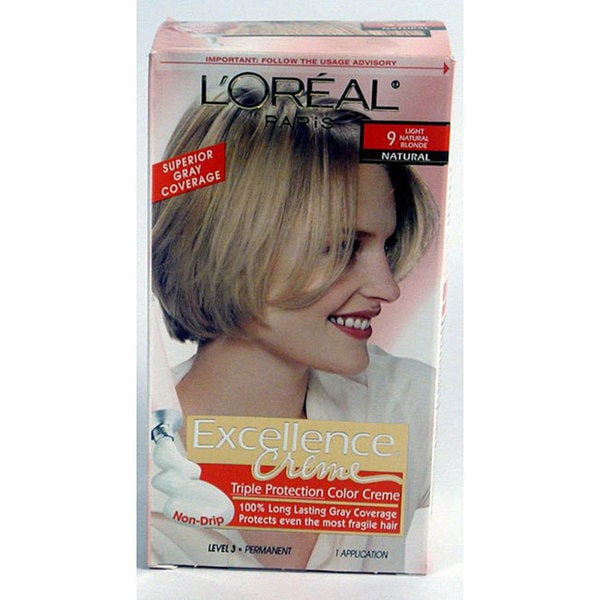 Loreal Excellence Coupons Printable Eating Out Deals In: Shop L'Oreal Excellence #9 Light Natural Blonde Hair Color