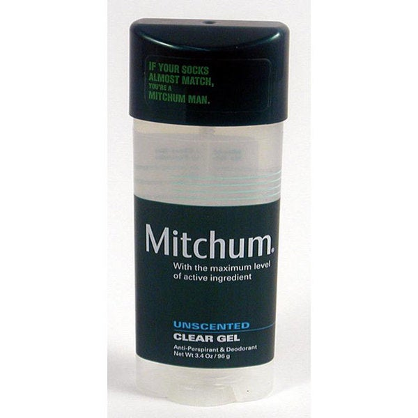 Mitchum Men's 3.4-ounce Clear Gel Deodorant (Pack of 4)