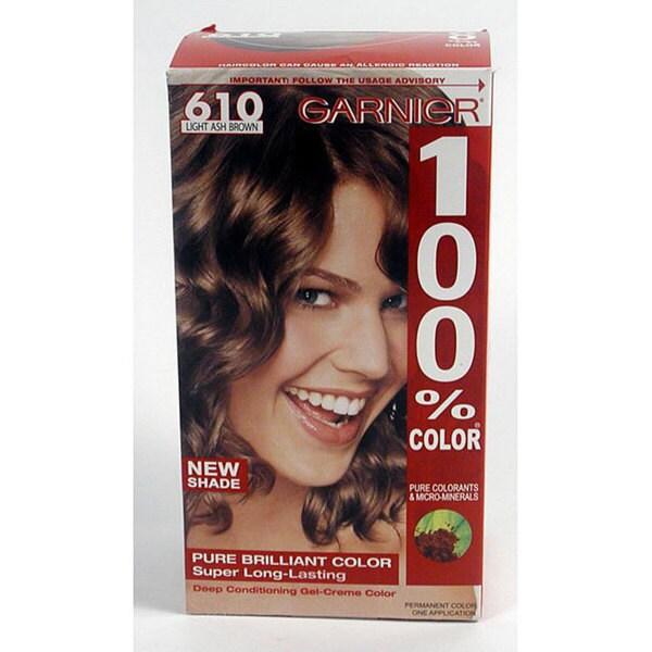 Garnier Hair Color Light Ash Brown