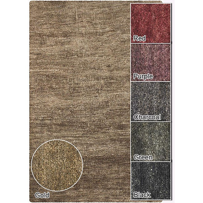Artist's Loom Hand-woven Casual Solid Natural Eco-friendly Jute Rug (7'9x10'6) - 7'9 x 10'6
