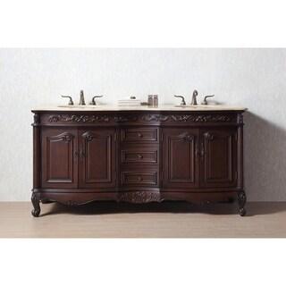 buy cherry finish wood bathroom vanities vanity cabinets online rh overstock com Rustic Barn Wood Cabinet Doors Reclaimed Wood Kitchen Cabinet Doors