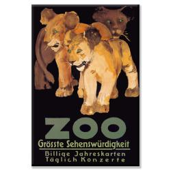 Lions, Tigers & Leopards Gallery-wrapped Canvas Art