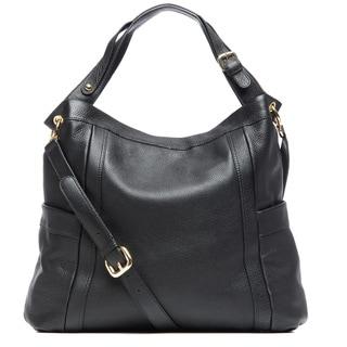 Presa 'Kennington' Large Leather Hobo
