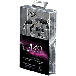 MEElectronics M9 Hi-Fi Sound-isolating Earphones - Thumbnail 1