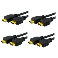 INSTEN 6-foot High Speed HDMI Cable M/ M (Pack of 4)