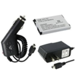 Eforcity 250256 Li-ion Battery and Car Charger