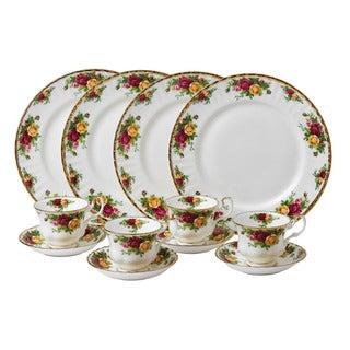 Royal Albert 'Old Country Roses' 12-piece Dinnerware Set