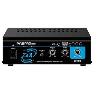 Pyle PCAU44 Amplifier - 120 W RMS - 2 Channel