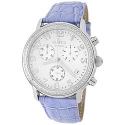 Roberto Bianci Men's Diamond Chronograph Watch