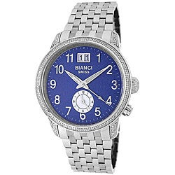 Roberto Bianci Men's Diamond Two-time Zone Watch