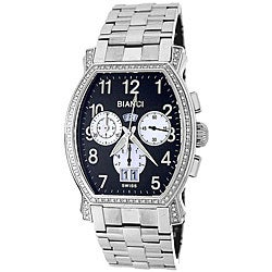 Roberto Bianci Men's 'Eleganza' Diamond-accent Chronograph Watch