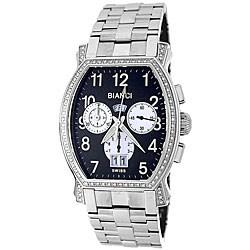 Roberto Bianci Men's 'Eleganza' Diamond-accent Chronograph Watch