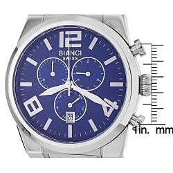 Roberto Bianci Men's Blue Dial Chronograph Watch