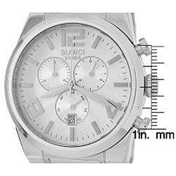 Roberto Bianci Silver Dial Chronograph Watch - Thumbnail 1