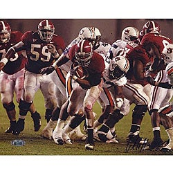 University of Alabama Glen Coffee Autographed 8x10-inch Photograph