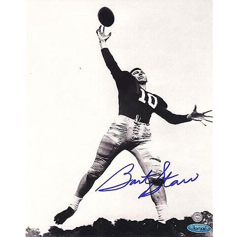 University of Alabama Bart Starr Autographed 8x10-inch Photograph
