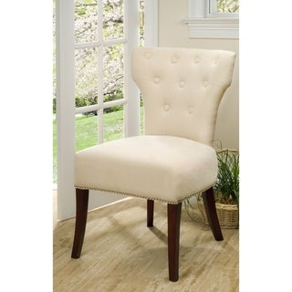 Safavieh En Vogue Dining Gramercy Cream Dining Chairs (Set of 2)