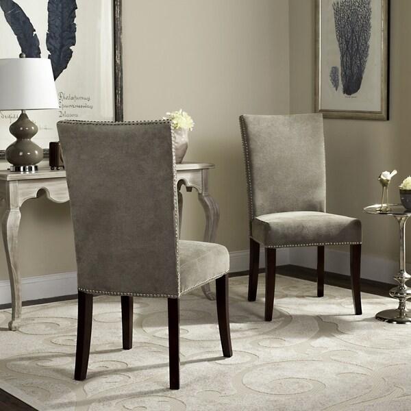 Safavieh En Vogue Dining Metro Stone Sage Dining Chairs (Set of 2)