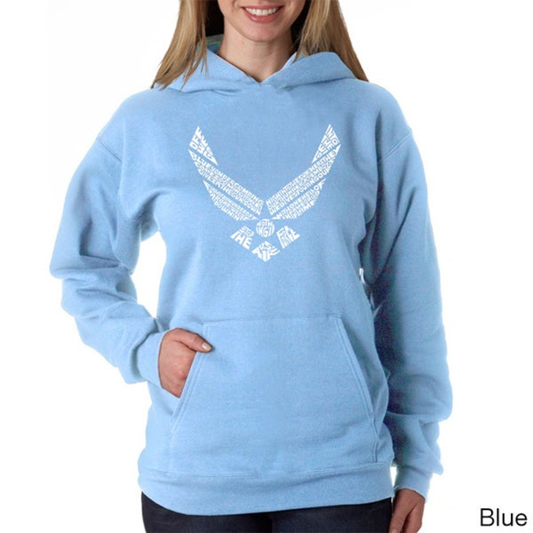 Los Angeles Pop Art Women's Air Force Hoodie