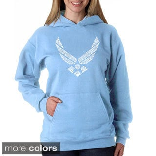 Los Angeles Pop Art Women's Air Force Hoodie