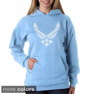 Los Angeles Pop Art Women's Air Force Hoodie (More options available)