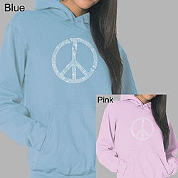 Los Angeles Pop Art Women's Broken Peace Hoodie