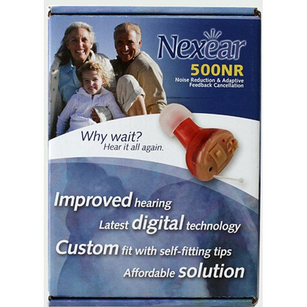 Nexear 500 Noise Reduction Hearing Amplifier (Left Ear)