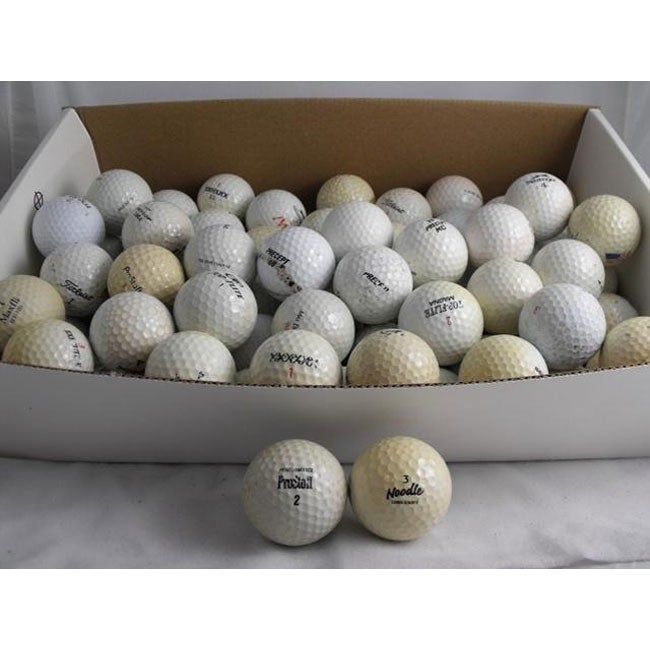 Assorted Recycled Shag Bag Golf Balls (Pack of 144)
