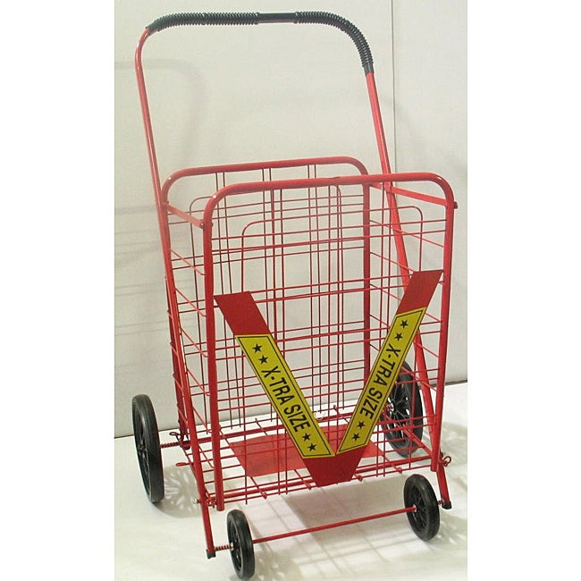 Trimmer Double Extra-large Heavy-duty Grocery/ Laundry Cart