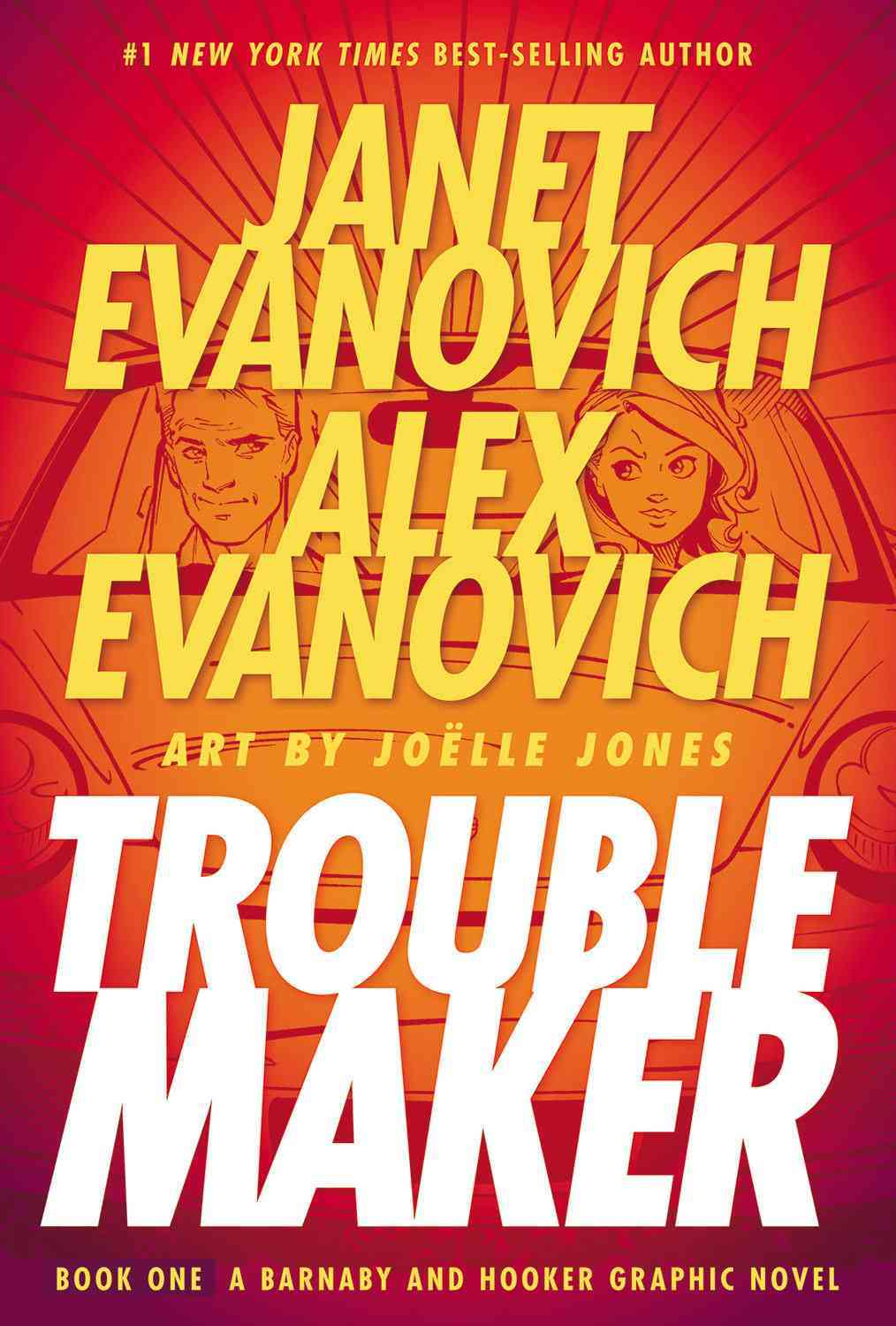 Troublemaker 1: A Barnaby and Hooker Graphic Novel (Hardcover)
