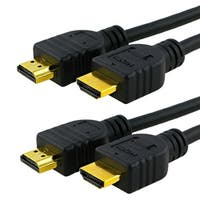 INSTEN 6-foot/ 10-foot M/ M HDMI Cable Bundle