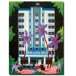 Herbet Hofer 'Park Central' Canvas Art - Thumbnail 2