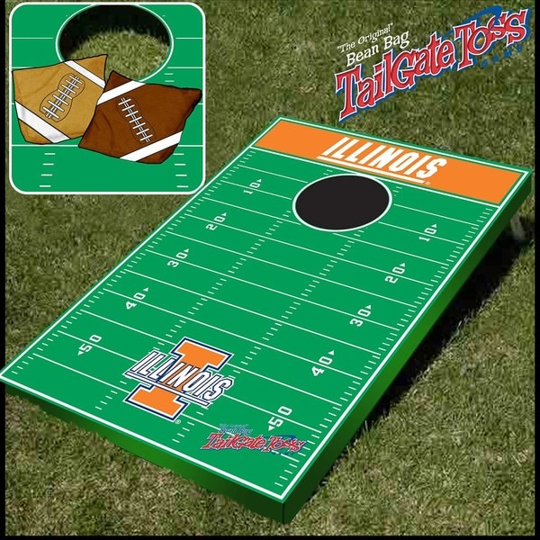 Officially Licensed NCAA Illinois Tailgate Toss Game