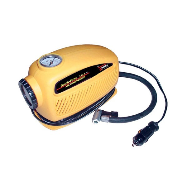 Wagan Quick Flow 3-in-1 Air Compressor