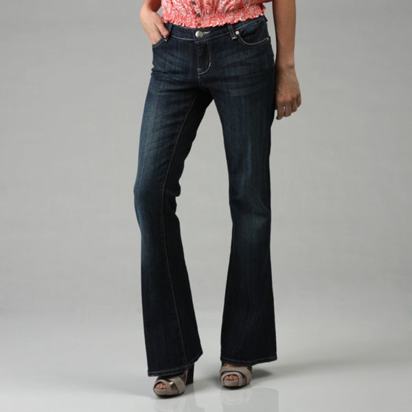 Seven 7 Women's Basic Dark Jeans - Free Shipping Today - Overstock ...